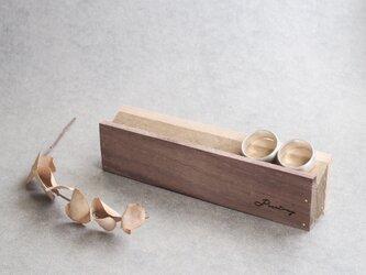 彫刻可) 木製 リングスタンド ディスプレイ インテリア 撮影 什器の画像