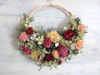花のスワッグ (A)の画像