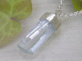 アクアマリンツイン結晶*925pendantの画像