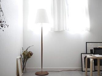 Floor Lamp/walnut 照明 ライト フロアランプ ウォールナット 北欧 無垢 リビング インテリア オブジェの画像