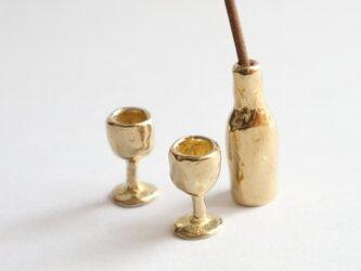 ワインは白が好き~真鍮のお香立て~の画像