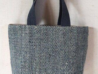 裂き織りトートバッグの画像