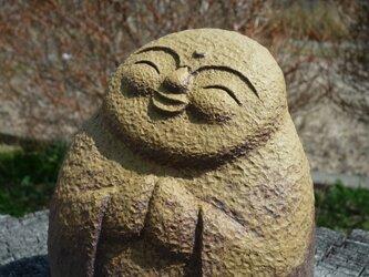 陶のお地蔵さま 春の画像