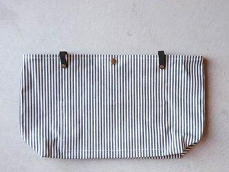 【受注製作】RIGHE用インナーバッグ 〈 Denim Hickory 〉の画像