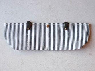 【受注製作】BARCHETTA用インナーバッグ 〈 Denim Hickory 〉の画像