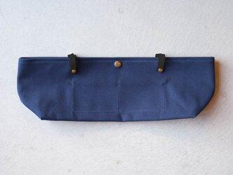 【受注製作】BARCHETTA用インナーバッグ 〈 Navy 〉の画像