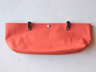 【受注製作】BARCHETTA用インナーバッグ 〈 Orange 〉の画像