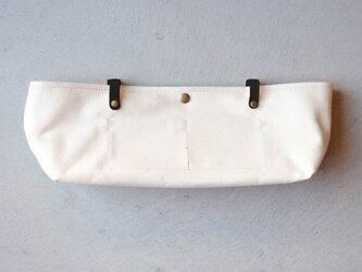 【受注製作】BARCHETTA用インナーバッグ 〈 White 〉の画像