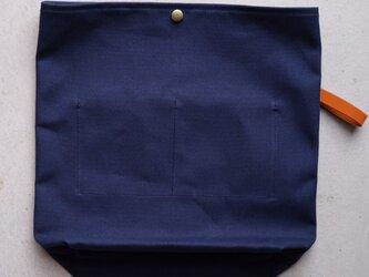 【受注製作】QUATTRO VINI用インナーバッグ 〈 Navy 〉の画像