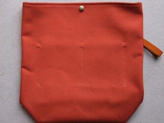 【受注製作】QUATTRO VINI用インナーバッグ 〈 Orange 〉の画像