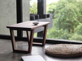 受注生産 職人手作り ローテーブル コーヒーテーブル 座卓 机 北欧家具 天然木 木目 木工 無垢材 エコ LR2018の画像