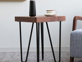 受注生産 職人手作り コーヒーテーブル サイドテーブル シンプル ミニテーブル 机 家具 木製 木目 エコ LR2018の画像