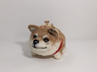 gamainu ※柴犬がま口の画像