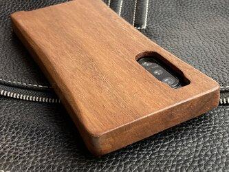 【受注生産】実績と安心サポート XPERIA 5ii 専用 特注木製ケースの画像