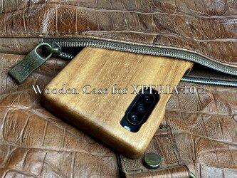 【受注生産】実績と安心サポート XPERIA 10ii 専用 特注木製ケースの画像