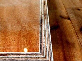 ■合板積層が美しい額縁/フォトフレーム/アートフレーム/木製フレーム/写真立て/ウォールシェルフ/インテリア/シンプルの画像