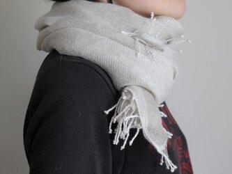 亜麻色  リネン手織り<ⅲ>の画像