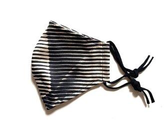 Folded Paper Black メッシュ裏地マスクの画像