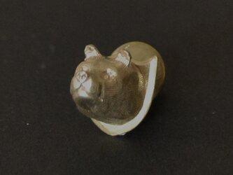 ピンブローチ bearの画像