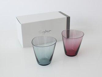 2個ギフトセット:SAI グラス ( ロックグラス タンブラー 片口 ソース ドレッシング グラス 硝子)の画像