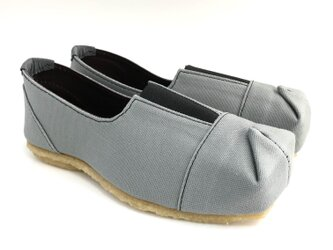 【bargain sale‼】Mサイズ(23〜24cm) SQUARE slip-on shoes #倉敷帆布の画像
