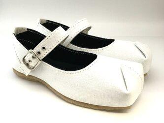 【bargain sale‼】Mサイズ(23〜24cm) SQUARE slip-on shoes #倉敷帆布の画像