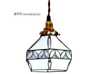 ステンドグラス シェードC11281-Wの画像