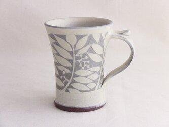 ナナカマド白いマグカップ(蘭越)の画像