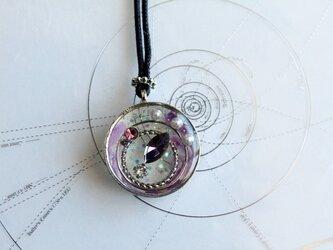 ロングネックレス・流星~紫~の画像