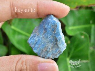 藍晶石★カイヤナイト 原石 kya009の画像