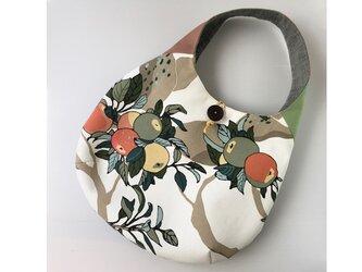 ☆再出品 ワンハンドルバッグ たまご型バッグ りんごの木3の画像