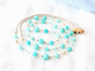 Sky(long necklace)の画像