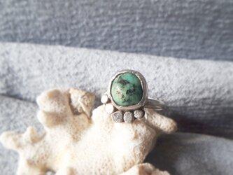 【8号】 turquoise silver925 ringの画像