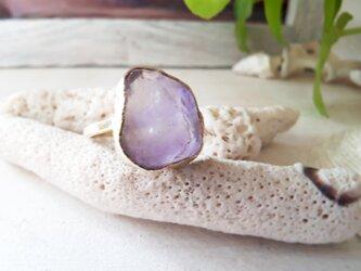 【14号】lavender amethyst ringの画像