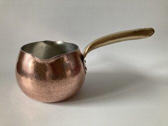銅製のミルクパン ※受注品の画像