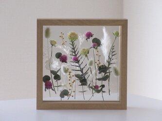 framed flower garden*受注制作*母の日ギフトタグお付け致しますの画像