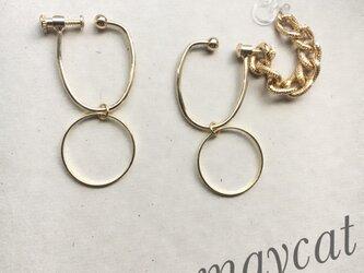 chain…イヤーカフ…の画像