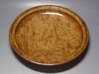 槇造り 斑杢 盛器 菓子器の画像