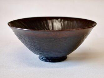 柿の蔕茶椀「編笠」の画像