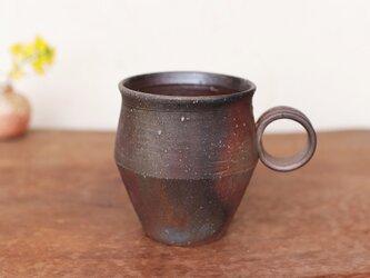 備前焼 コーヒーカップ(野草) c9-041の画像