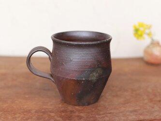 備前焼 コーヒーカップ(野草) c9-044の画像