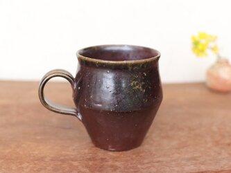 備前焼 コーヒーカップ(野草) c9-045の画像