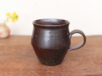 備前焼 コーヒーカップ(野草) c9-046の画像