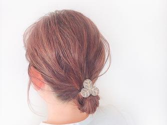 みつ葉のヘアゴム/GYの画像
