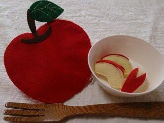 フェルトdeおままごと 訳ありりんごの画像