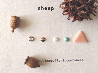 sheepの華奢ピアス 5点セットNo①の画像
