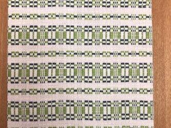 手織りの小窓風パネルの画像