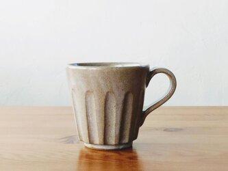 しのぎのコーヒーカップ(大)の画像
