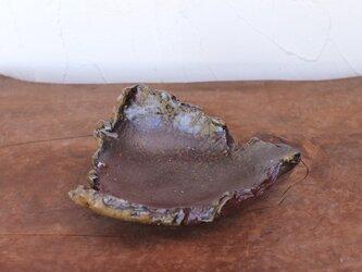 備前焼 ちぎり皿(幅約13cm) sr8-024の画像