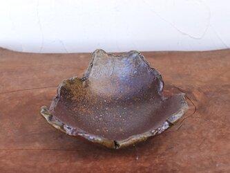 備前焼 ちぎり皿(幅約14.5cm) sr8-026の画像